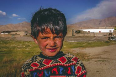 Tajik boy, Central Asia