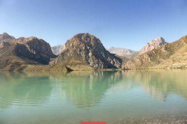 Tajikistan, Alexander lake, Iskanderkul lake