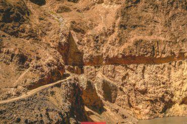 Tajikistan mountain road