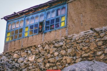 Tajikistan village houses