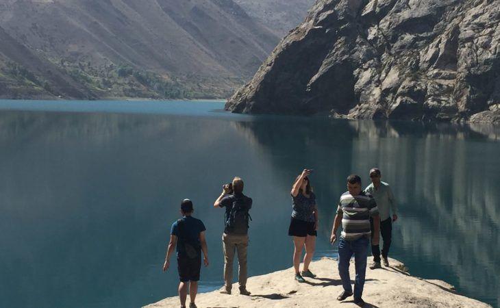 Iskanderkul lake, Tajikistan