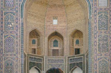 Uzbekistan girl, Bukhara travel
