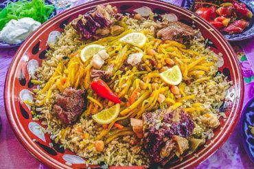 Uzbekistan plov, cuisine