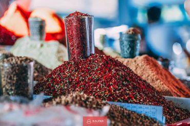 Uzbekistan, Silk Road trade spices