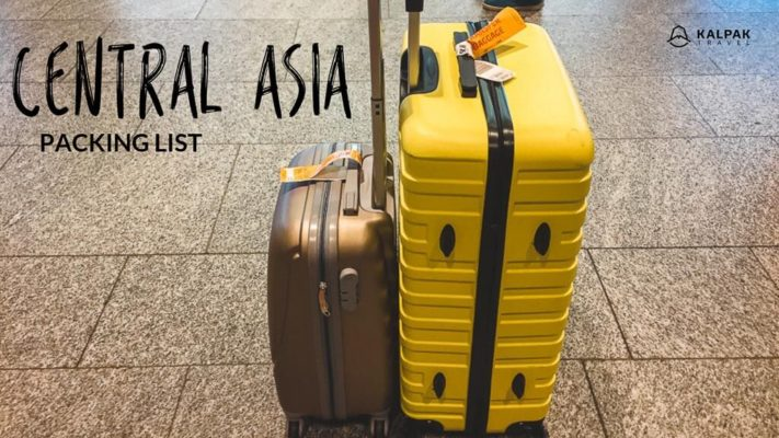 Central Asia Packing List