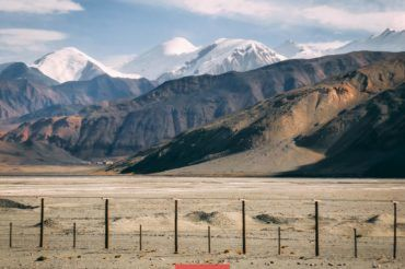 Tajikistan China border
