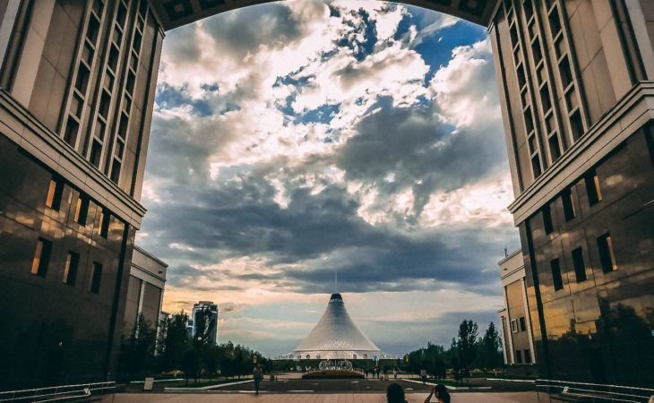 city tour Astana, architecture