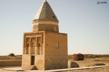 Konye Urgench mausoleum in Turkmenistan