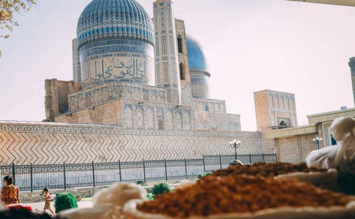 Uzbekistan journey with a group tour
