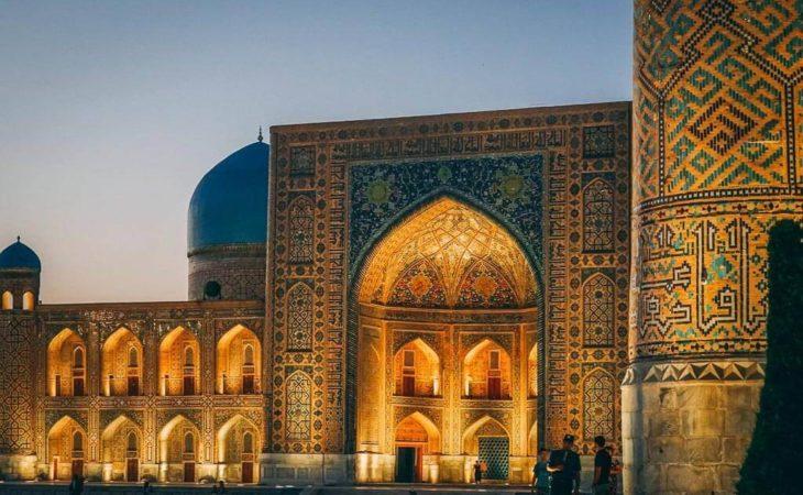 Uzbekistan registan tour
