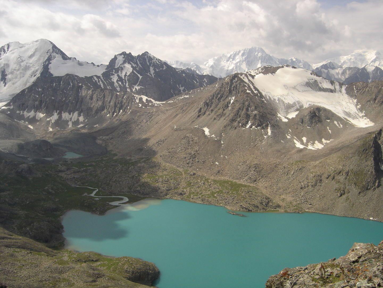 Ala Kul mountain lake in Kyrgyzstan & Kazakhstan Tour