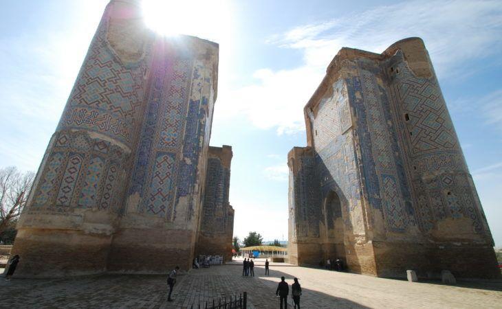 ancient city architecture in Shakhrisabz-uzbekistan-tour