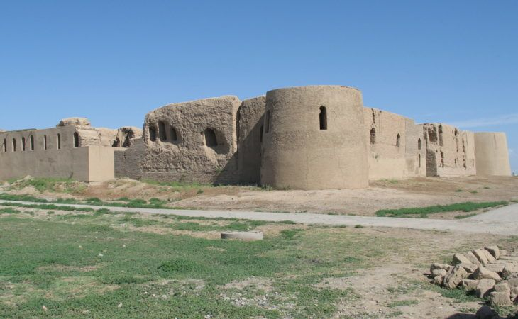 termez 40 girls fortress in uzbekistan, important archeological monument of central asia