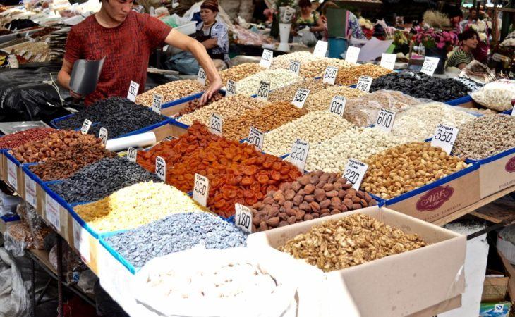 dried fruits of kyrgyzstan, silk road traditions