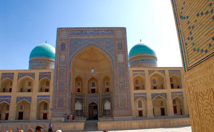gorgeous architecture of Uzbekistan Central Asia Journey
