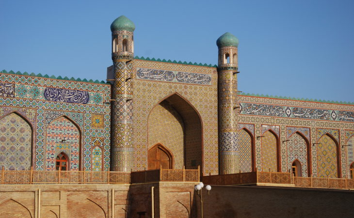 palace of the last khan in kokand, Uzbekistan tourism in Ferghana Valley