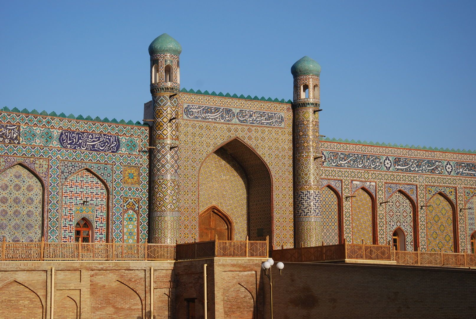 palace of the last khan in Kokand, Uzbekistan tour in Fergana Valley