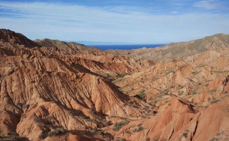 Skazka Canyon in active Kyrgyzstan Tour