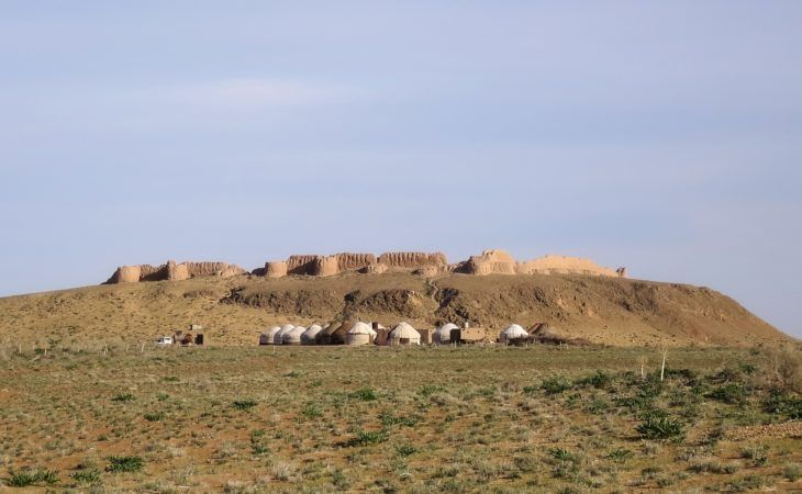 ayaz kala yurt camp in uzbekistan