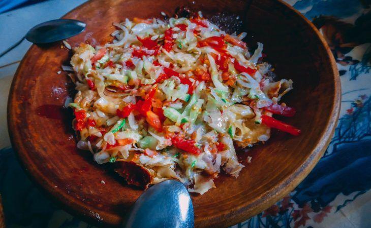Tajikistan national dish, kurutob