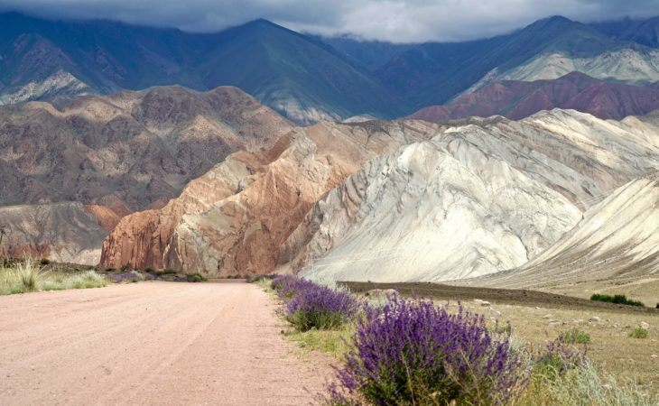 nature, travel road in kyrgyzstan tour