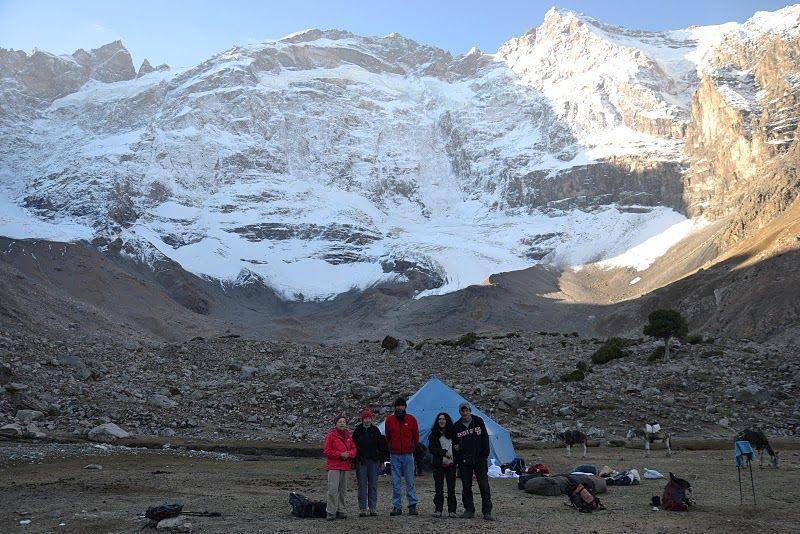 Dushokha camp during Tajikistan travel adventures in Fann Mountains Trekking Tour