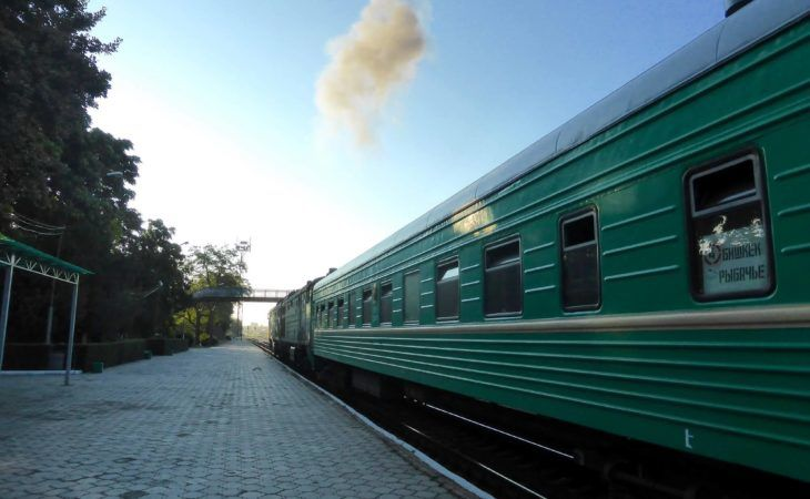soviet train in kyrgyzstan is a nostalgic travel experience in central asia