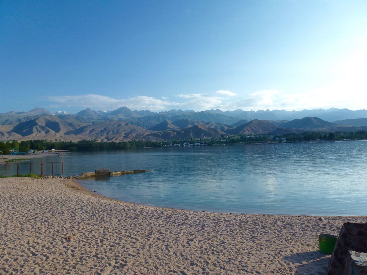 Issyk Kul lake as seen in classic Kyrgyzstan Tour
