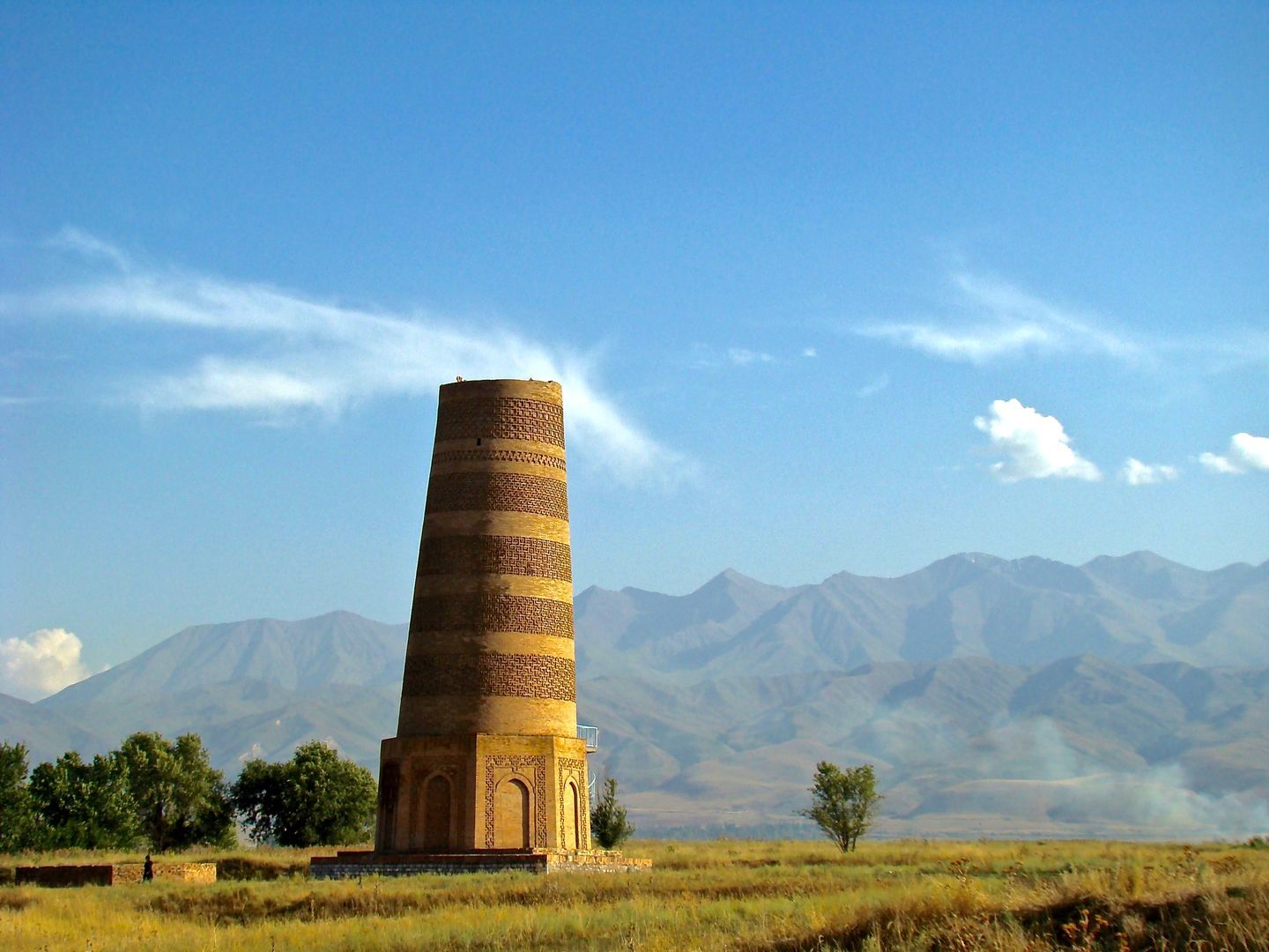 burana tower reflects history of kyrgyzstan- architectural monument