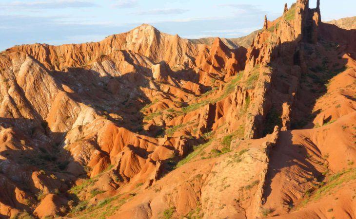 canyon skazka in kyrgyzstan