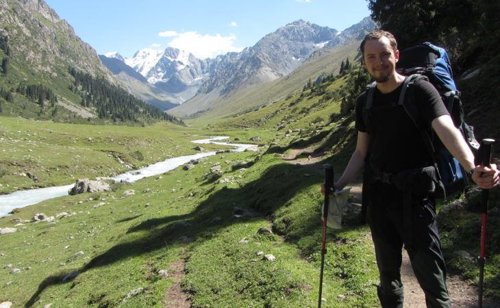 trekking tour in kyrgyzstan nature and central asia