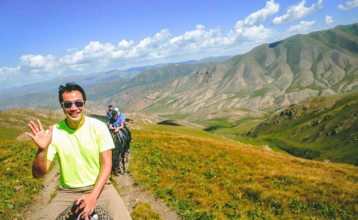 Kyrgyzstan Horse Riding to Song Kul Lake