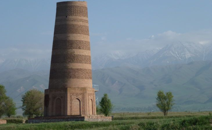 Kyrgyzstan, Burana Tower on Bishkek Osh Tour reflects millenia old history of the region