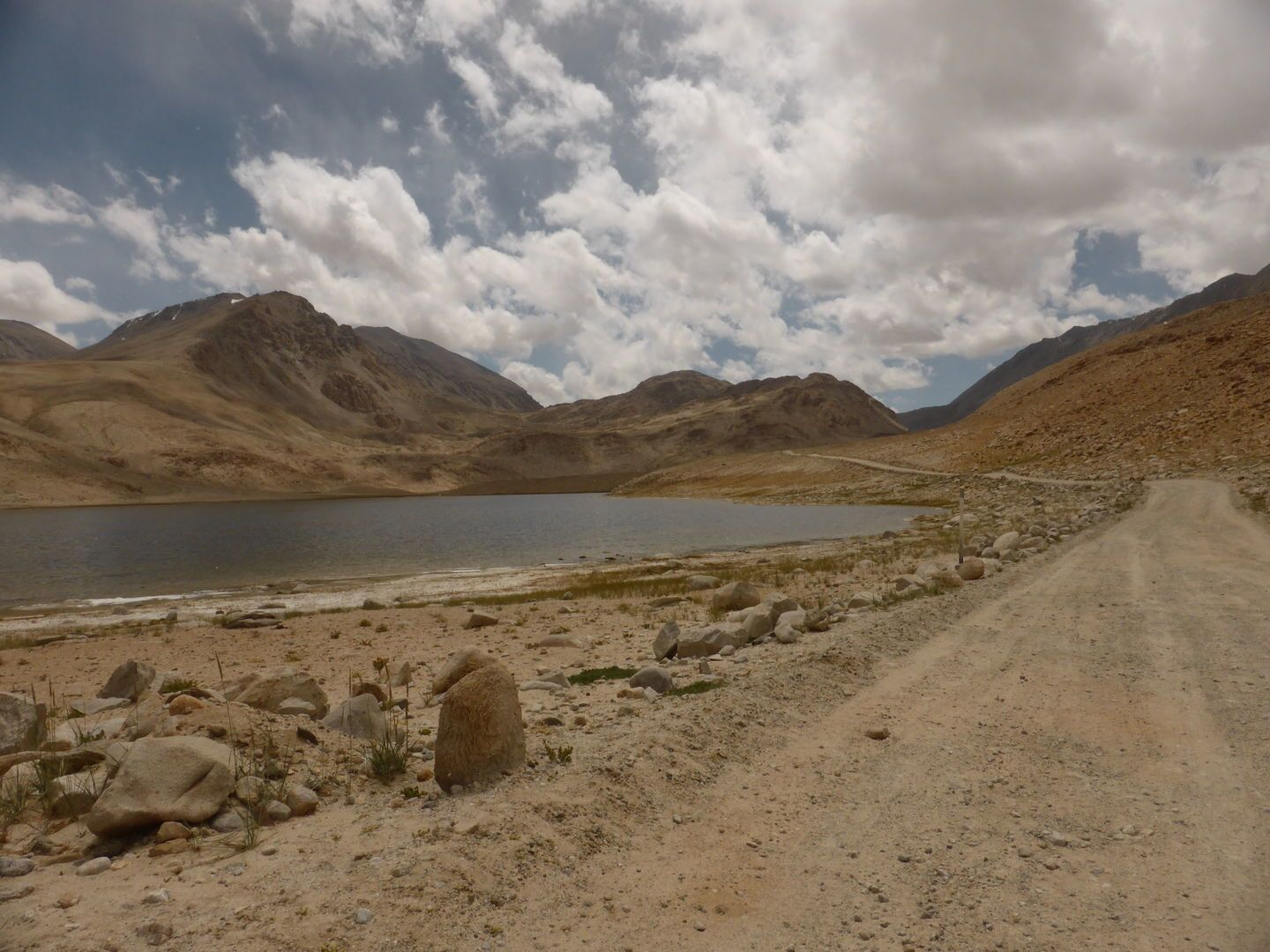 Pamir Highway Road view during the tour