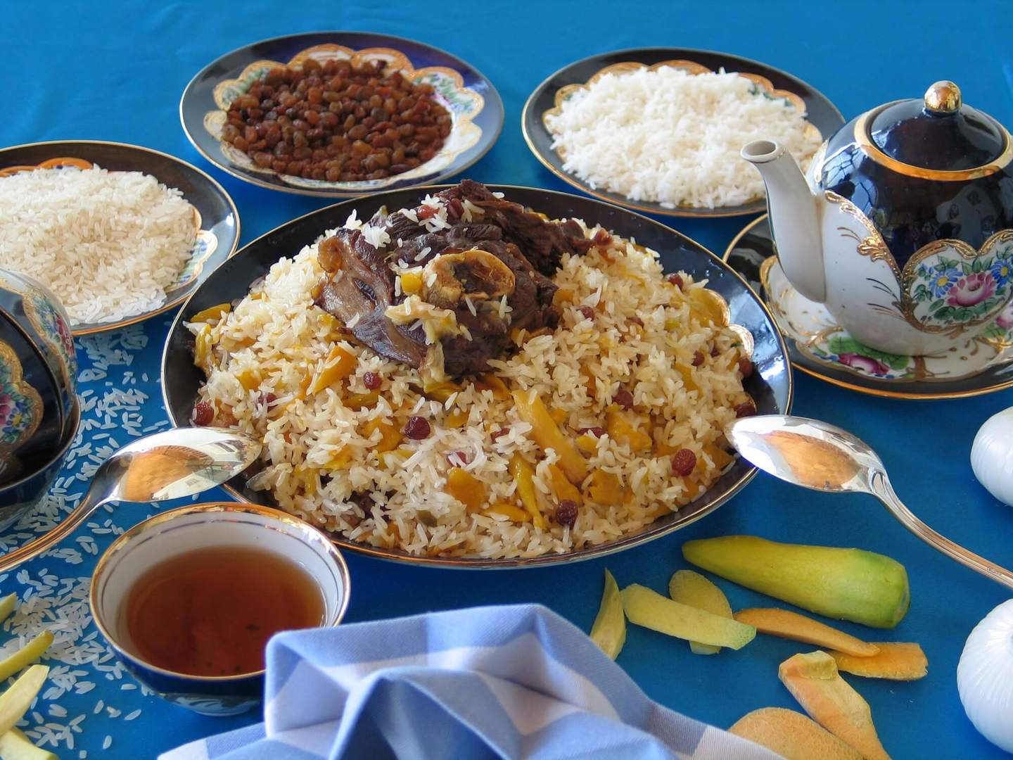 Plov-Central Asian famous rice dish