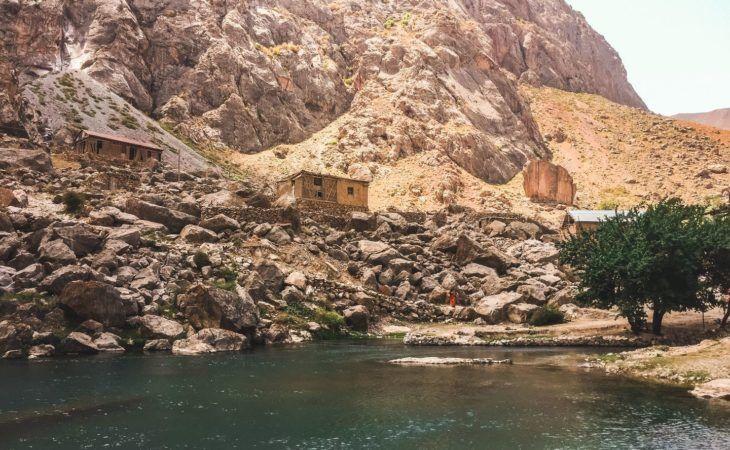 Tajikistan Seven lakes