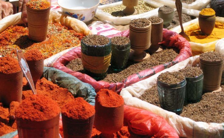 spices of the silk road