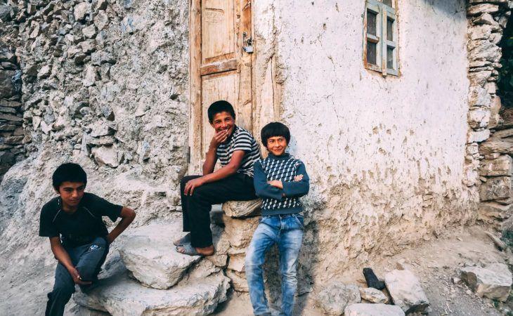 Tajikistan village