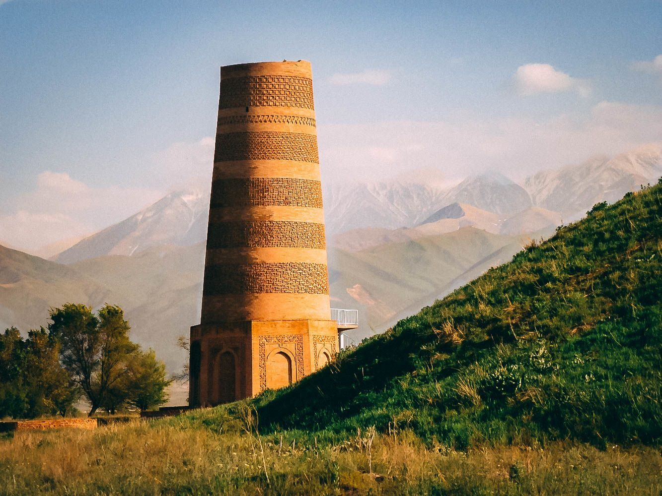 Burana Tower Kyrgyzstan -ancient Balasagyn city francopan