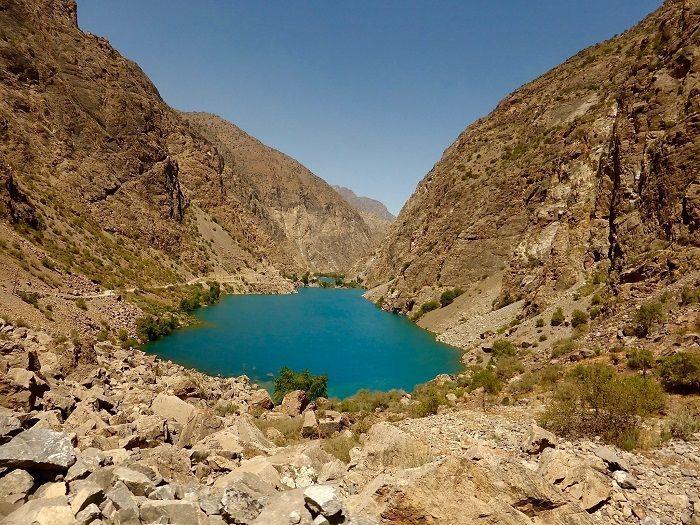 seven lakes trekking trip tajikistan