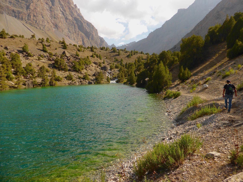 Fann Mountains trekking