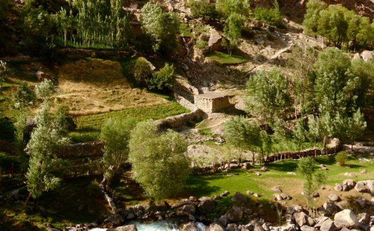 Zeravshan valley in Fann Mountains, Tajikistan travel
