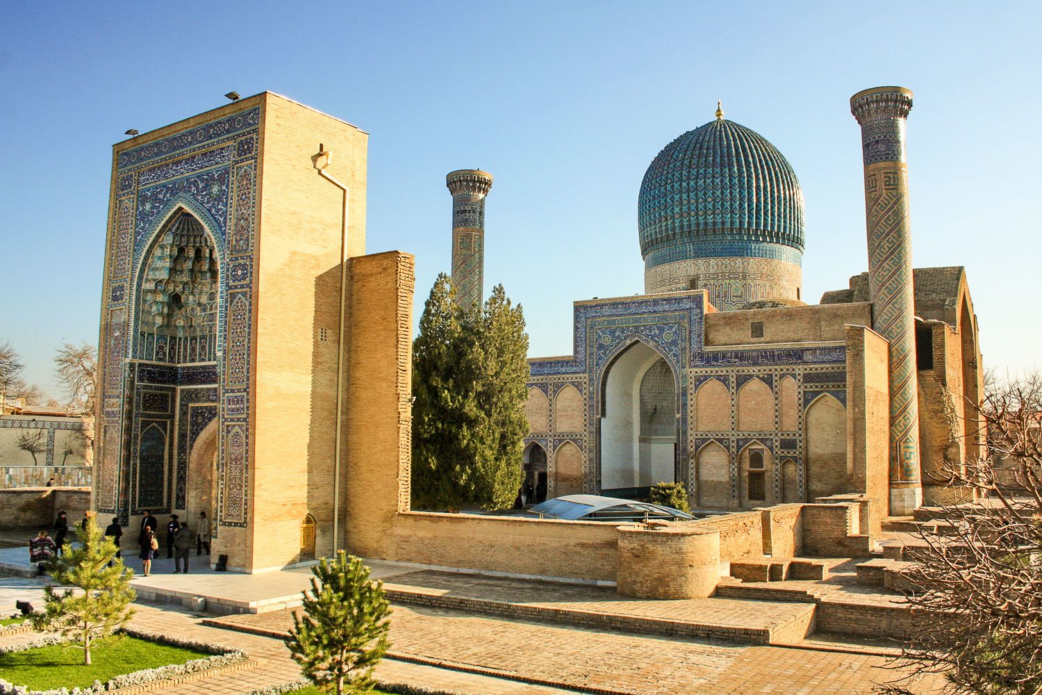 Gur Emir Mausoleum of Temirlan-highlight of Central Asian Silk Road Tour