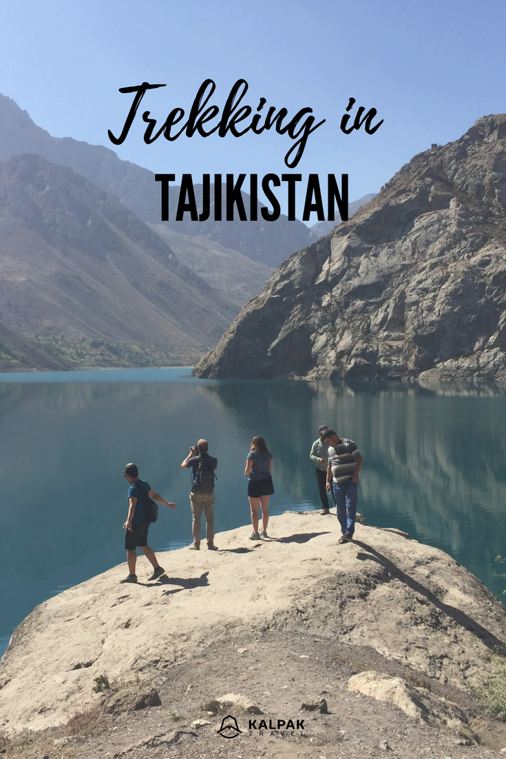 Tajikistan trekking in the fan mountains