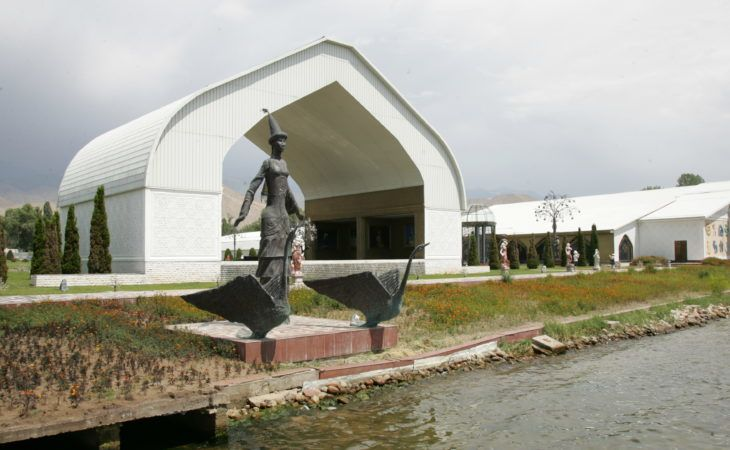 Ruh Ordo in Cholpon Ata, Issyk kul, Kyrgyzstan