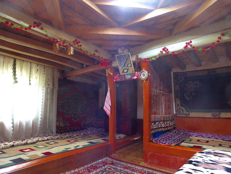 inside a pamiri house