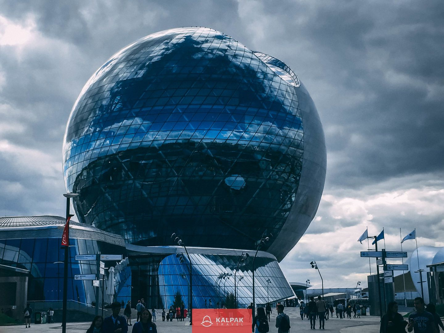 Central Asia capitals, Expo Sphere in Astana