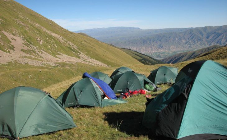 Kyrgyzstan Trekking Tour Chon Kemin Tents