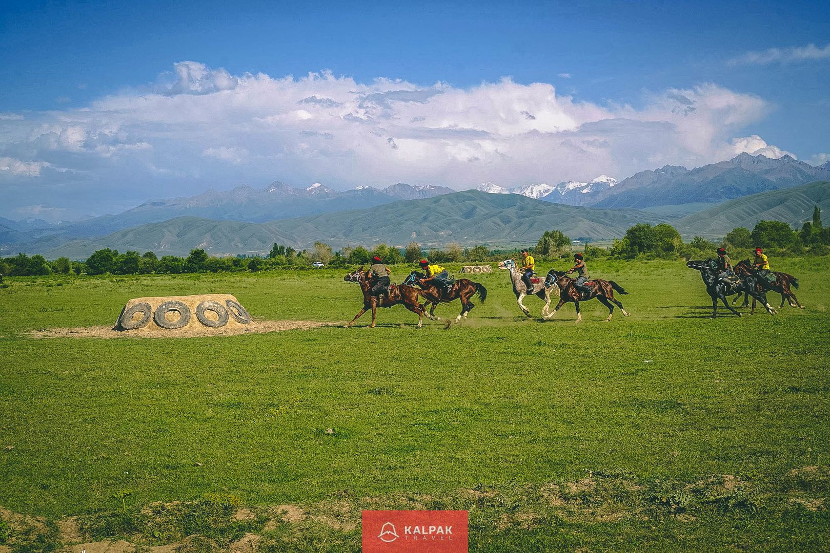Horses and Horse riding in Kyrgyzstan