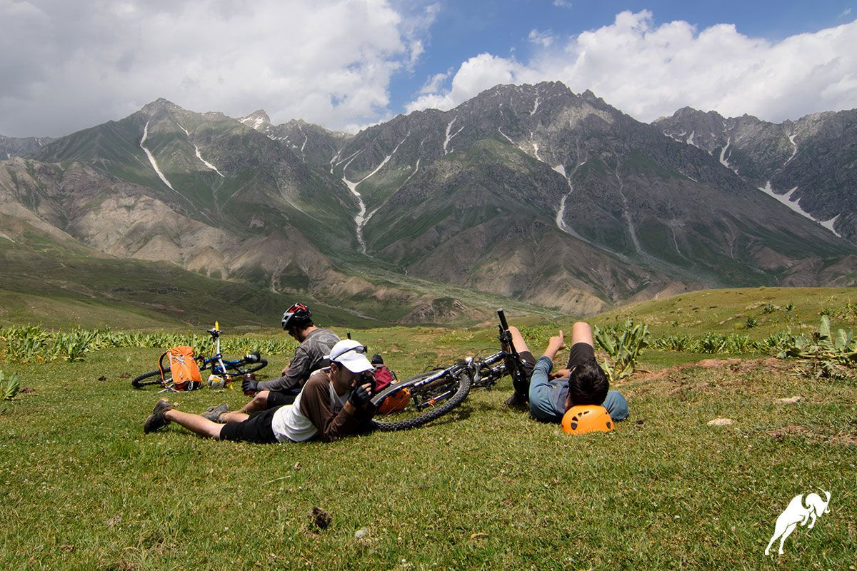 mountain bike tour in Yagnob,